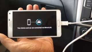 Download How to use MirrorLink in Volkswagen Polo Video