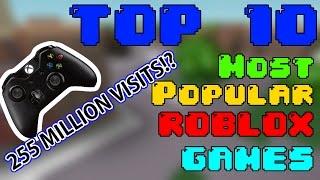 Download Top 10 MOST POPULAR ROBLOX GAMES 2017!! Video