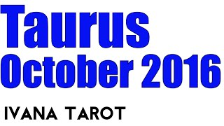 Download ❤️Taurus Monthly Love Tarot Reading for October 2016 by Ivana Tarot Video