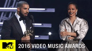 Download Drake Presents Rihanna w/ Vanguard Award | 2016 Video Music Awards | MTV Video