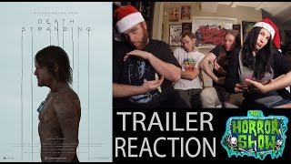 Download ″Death Stranding″ Trailer #2 Reaction - 2016 Video Game Awards - The Horror Show Video