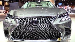 Download 2018 Lexus LS500 - Exterior and Interior Walkaround - 2017 Chicago Auto Show Video