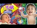 Download 1 YEAR OF SHAWN! One Picture Daily Vlog 🎂 Baby's First Birthday (FUNnel Vision Learning Candles) Video