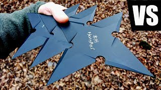 Download Full Auto Throwing Stars VS REAL LIFE Naruto (Honshu Large Throwing Star ULTIMATE Test) Video