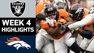 Download Raiders vs. Broncos | NFL Week 4 Game Highlights Video
