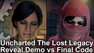 Download [4K] Uncharted: The Lost Legacy - Reveal Trailer vs Final Game Comparison Video