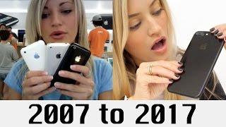 Download 10 Years of iPhones Video