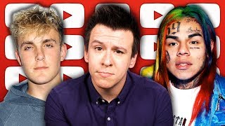 Download DISGUSTING! Huge Scam Exposed, Spotify Crackdown Stirs 6ix9ine Debate, Jake Paul Challenge, And More Video