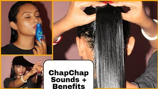 Download Coconut Oil Heavy Hair Oilling+CHAMPI Oilling & its Benefits ||Combing | Indian Girl Chumki Video