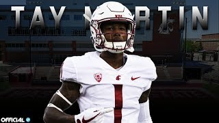 Download Davontavean ″Tay″ Martin Official Washington State Highlights - The Next Great Pac-12 Receiver ᴴᴰ Video