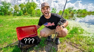 Download My First CATCH and COOK at My POND!!! (Delicious) Video