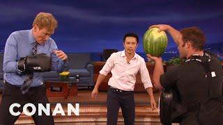 Download Steven Ho Takes Conan Back To Basics - CONAN on TBS Video