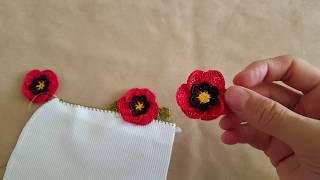 Download Gelincik Çiçeği Oya Modeli Yapımı Video