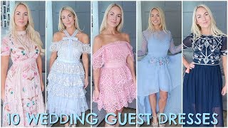 Download 10 WEDDING GUEST DRESSES 2018 | WEDDING GUEST OUTFIT IDEAS / HAUL & TRY ON Video