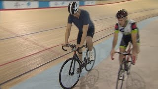 Download Cycling at the velodrome with Curt Hartnett and Steve Bauer Video