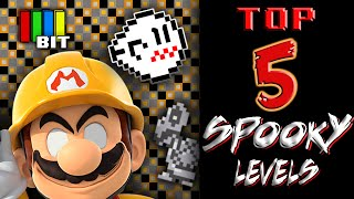 Download Creepy and Scary Mario Maker Levels -TOP 5- (2016) Video