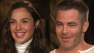Download Chris Pine and Gal Gadot Reveal the Secret to Their 'Wonder Woman' Diets Video
