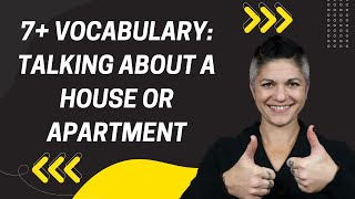 Download 7+ Vocabulary for Talking about a House or Apartment Video