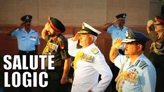 Download Logic behind Salutes in Indian Army, Air Force and Navy [Hindi] Video