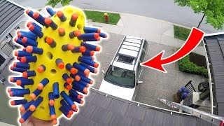 Download NERF NUKE vs SUV from 45FT! Video
