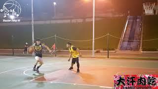 Download 來自蘭嶼的原住民網友約小夫單挑籃球🏀上了場低位單打小夫 Video