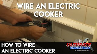 Download How to wire an electric cooker Video