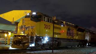 Download Union Pacific Brand New Tier 4 Locomotive on Amtrak Video