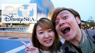 Download 東京迪士尼海洋約會記♪ 日文戀愛金句能不能打動YUMA呢?(笑)【TOKYO DISNEY SEA】 Video