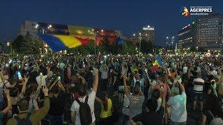 Download Mitingul diasporei: A treia zi de proteste în Piaţa Victoriei Video