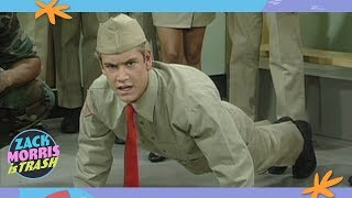 Download The Time Zack Morris Tricked His Friends Into Joining The Army Then Abandoned Them Video