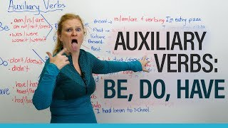 Download English Grammar: AUXILIARY VERBS – be, do, have Video