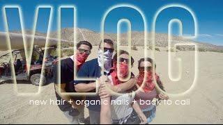 Download Vlog   New Hair + Organic Nails + Back To Cali Video