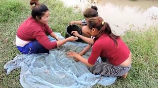 Download Amazing Fishing at Pailin Province - Cambodia Traditional Fishing - Khmer Net Fishing (Part 317) Video