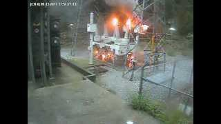 Download Electrical Explosion Donnells Power House Strawberry, CA Video