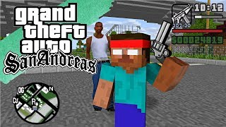 Download Monster School : GTA SAN ANDREAS PART 2 - Minecraft Animation Video