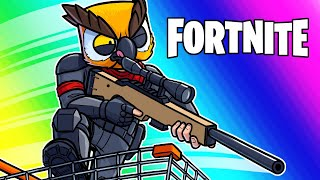 Download Fortnite Funny Moments - Shopping Carts VS Snipers Custom Game! Video