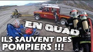 Download DES QUADS SAUVENT DES POMPIERS! Video