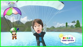 Download ROBLOX Skydiving Simulator! Let's Play Roblox with Ryan's Family Review Video