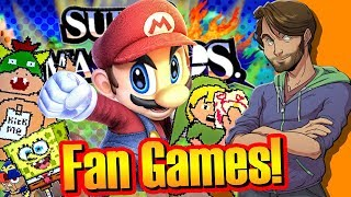 Download WEIRD Super Smash Bros. FAN-GAMES! - SpaceHamster Video