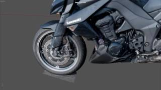 Download Kawasaki Z1000 2013 Agisoft Photoscan Video
