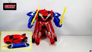 Download Đồ chơi Robot biến hình tàu điện và siêu xe robot tranformer toy for kids đồ chơi trẻ em Video