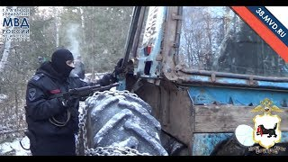 Download Погоня за трактором в лесу Video