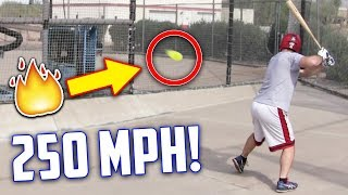 Download Hitting A 250 MPH Fastball | IRL Baseball Challenge (Inspired by Stanley Anderson) Video