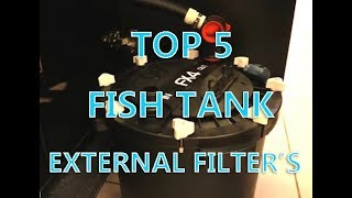 Download TOP 5 Fish Tank External Canister Filter's! Video