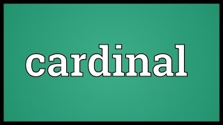 Download Cardinal Meaning Video