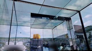 Download OTIS Ultra High Speed Elevator at Lotte World Tower Seoul Sky, korea (Going Up Only) Video