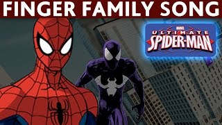 Download FINGER FAMILY SPIDERMAN Spider Woman Spider Man NURSURY RHYMES Video