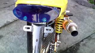 Download Modifikasi vega r 2007 ( terkeren NO. 1 ) airbrush + chrome body & mesin + modif lampu, knalpot cha, Video
