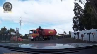 Download Questionable Ethics of Rubbish Truck Driver Video