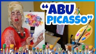 Download Daniel El Travieso - Abu Hizo Una Pintura De Uno De Nosotros! (DibujAbu) Video